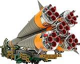 #4: 1/150プラスチックモデル ソユーズロケット+搬送列車 1/150スケール PS製 組み立て式プラスチックモデル