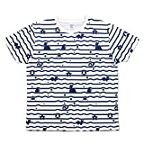 ポケモンセンターオリジナル graniph Tシャツ みずタイプ ボーダー S