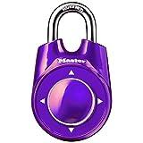 Master Lock(マスターロック)スピードダイヤルスライドロック1500iD パープル