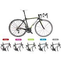 Marechal (マルシャル) Soul Road Bike Bicycle w/R8000 50/34T 170mm & Fulcrum (フルクラム) Racing Zero Red Rim ロードバイク Shimano(シマノ) R8000グループ サイズ 45/47/50/52cmから選択可 [並行輸入品]