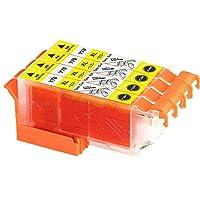 ICY70L イエロー 4本セット EPSON エプソン 互換インクカートリッジ 増量版 汎用インク ICチップ付き 残量表示機能付