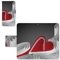 Xperia SO-01B ☆ ケース・カバー スライド式スマホケース 完全国内印刷 完全受注生産 手帳型 赤いハート エクスペリア スマホカバー オリジナルデザイン プリント 日本製
