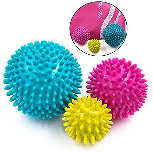 マッサージボール 触覚ボール リフレックスボール 筋膜・筋肉をピンポイント圧迫で解きほぐす Massage Ball 3個セット