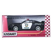 Kinsmart 1:36 Nissan GT-R R35 Police Display Mini Car ミニチュアカー [並行輸入品]