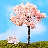 ガーデンオーナメント・置物 盆栽  ミニチュア 桜 風景装飾品 庭の装飾