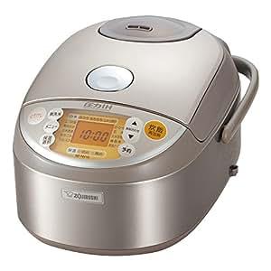 象印 圧力IH炊飯器 5.5合 ステンレス NP-NV10-XA