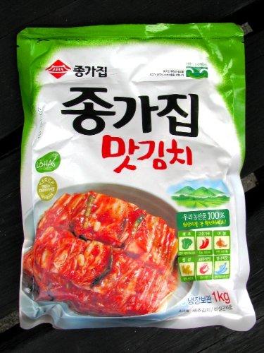 宗家白菜キムチ(カット済み)1kg×2個セット