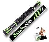 HERO FIT - マッサージローラー・スティック | トリガーポイント&筋筋膜リリース・ローリングマッスルマッサージャー