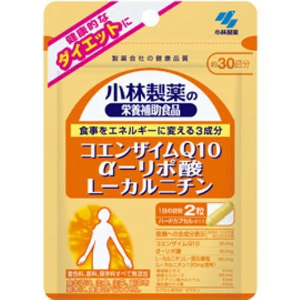 懺悔無法者どこか小林製薬 コエンザイムQ10 α-リポ酸 L-カルニチン(60粒×2個セット)