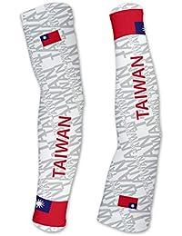 台湾ScudoPro Compression Arm Sleeves UV保護ユニセックス – Walking – サイクリング – Running – ゴルフ – 野球 – バスケットボール