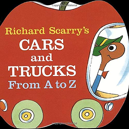 Richard Scarry's Cars and Trucks from A to Z (A Chunky Book(R))の詳細を見る