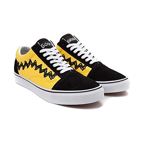 (バンズ)Vans オールドスクール スヌーピー・靴・スニーカー Old Skool Peanuts Charlie Brown Skate Shoe チャーリーブラウン M:9.5, W:11 (メンズ27.5cm, レディース28cm) [並行輸入品]