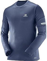 (サロモン) SALOMON ランニングシャツ AGILE LS TEE M[メンズ]