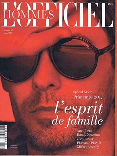 L'Officiel Hommes Hors Serie [FR] No. 47 2017 (単号) Editions Jalou