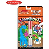 Melissa & Doug On the Go ColorBlast! Activity Book: 24 Dinosaurs-Themed Pictures and No-Mess Marker