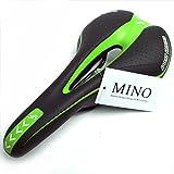 スポーツサドル 自転車 サドル クッション ロードバイク マウンテンバイク MINO Creates (グリーン)