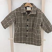 Woolen Children's Clothing Children's Coat Girls Woolen Coat Warm Clothes BabyProducts