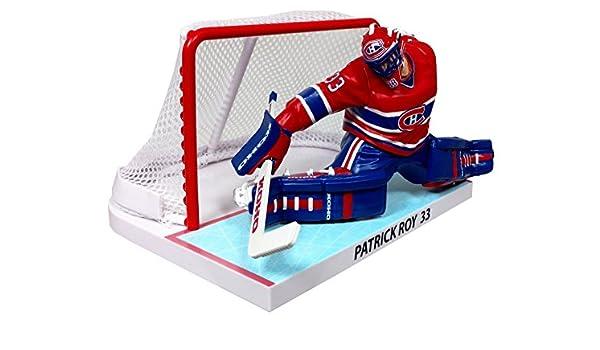 Patrick Roy Canadiens de Montréal avec importations nettes Dragon NHL Figure L.E 2350