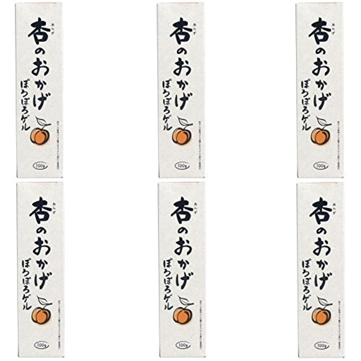 ファンネルウェブスパイダー大臣買う【まとめ買い】杏のおかげ ぽろぽろゲル 100g【×6個】