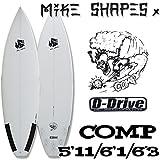 サーフボード ショートボード マイクシェイプス / MIKE SHAPES COMP 5'11 6'1 6'3 初心者 6'3