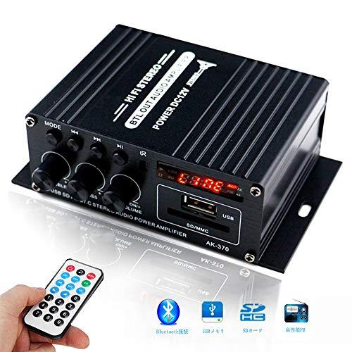 DeGaoge Bluetooth対応小型ステレオアンプ B07YBP9PP7 1枚目