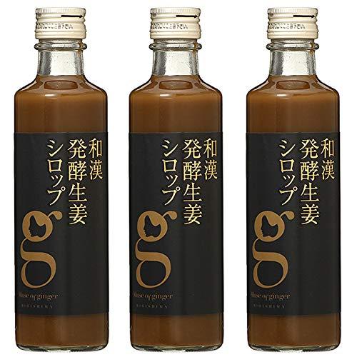 北海道アンソロポロジー 和漢発酵生姜シロップ 280mL 【3本セット】