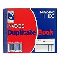 Mini請求書複製Book–1to 100番号ページ–ルールド–サイズ5' X 4'