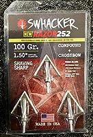 Swhacker Razor 252 4 Blade 100gr ブロードヘッド