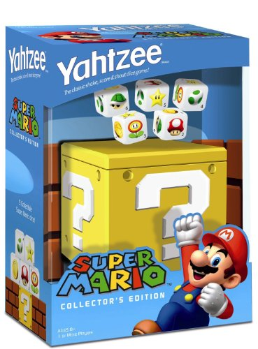 Nintendo Super Mario Collector's Edition Yahtzee【直輸入品】