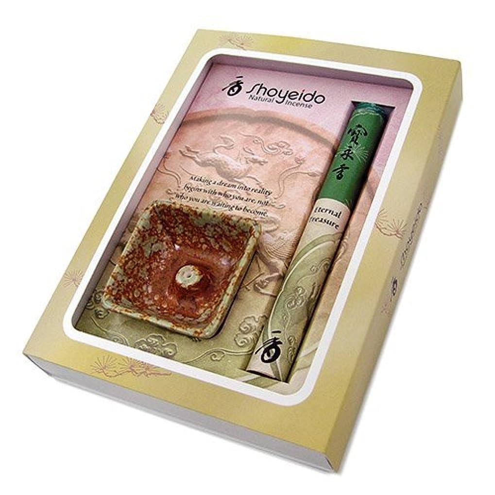 行進ずんぐりした最初にShoyeido's Eternal Treasure Incense Gift Set [並行輸入品]