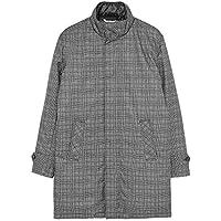 Zara Men Check Puffer Coat 0706/500 Grey