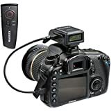 Marrex Geotagging GPS受信機ワイヤレスシャッターリモートコンボfor Canon EOS DSLRカメラIncluding 1d X , 1d C , 5d MK III、6d、70d、80d , Rebel sl1、t4i、t5、t5i t6i、&、t6s