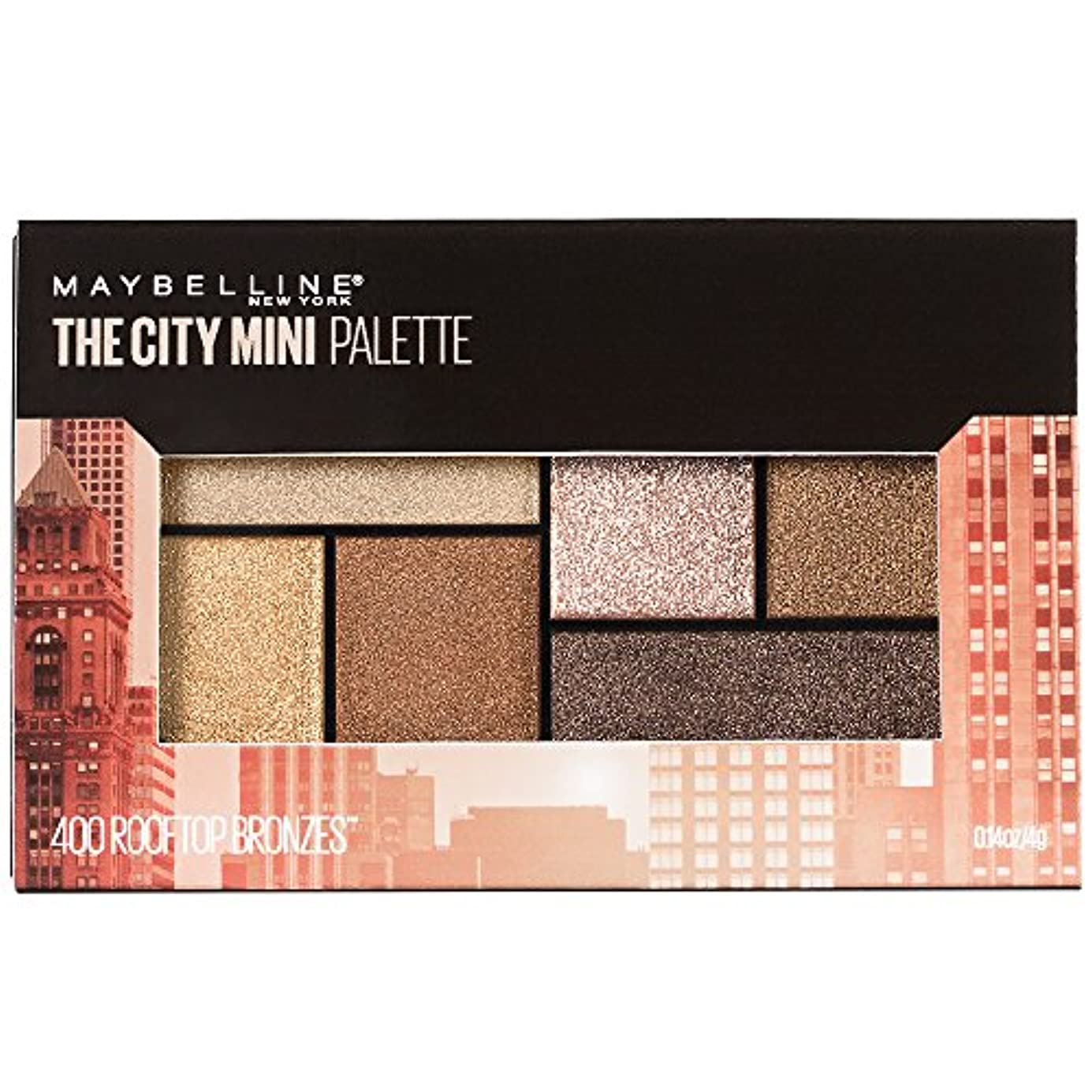 肘創造迷惑MAYBELLINE The City Mini Palette - Rooftop Bronzes (並行輸入品)