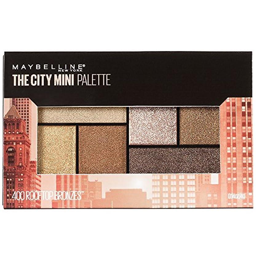 逸脱創造カートMAYBELLINE The City Mini Palette - Rooftop Bronzes (並行輸入品)