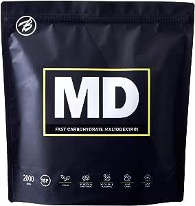バルクスポーツ カーボパウダー マルトデキストリン MD 2kg(95食分) ノンフレーバー 国産