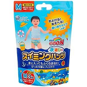 グーン スイミングパンツ M (7~12kg) 男の子用 36枚(3枚×12) 【ケース販売】