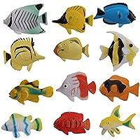 12セット モデル金魚 おもちゃセット 子供が大好き
