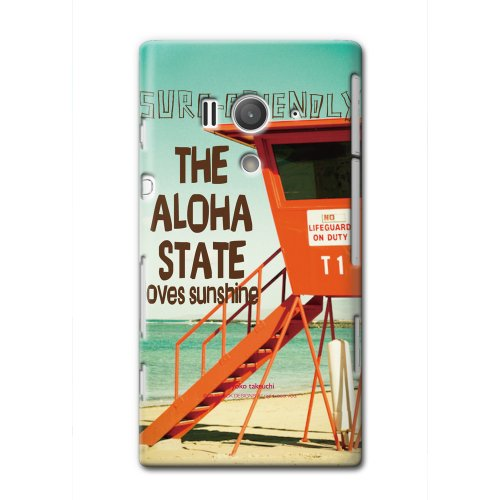 CollaBorn Xperia acro HD専用スマートフォンケース Life on the beach 【Xperia acroHD対応】 OS-XH-202