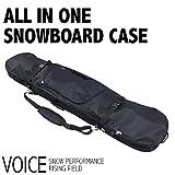 VOICE (ヴォイス) VO401スノーボードケース スノーボードケース (BLK/BLK) ~153cm BLK/BLK