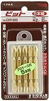 ベッセル ゴールドビット 5本組 +2 65mm GW-500