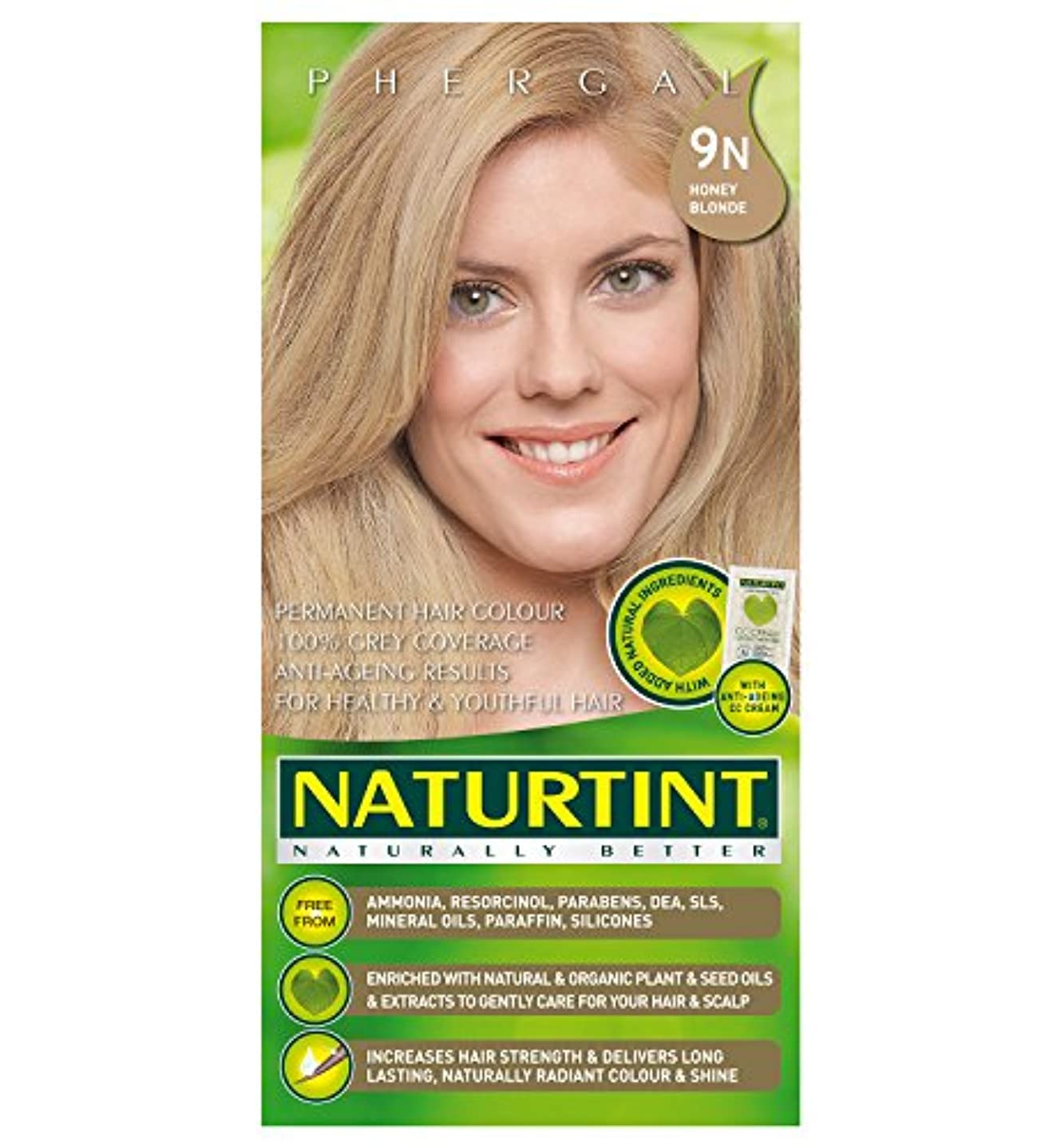 核国籍影Naturtint Hair Color 9N Honey Blonde Count (並行輸入品)