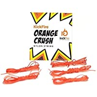 KickFire Diabolos Orange Crush Diabolo String, Nylon, Chinese YoYo Replacement String, Set of 5 Strings [並行輸入品]