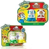 [クレヨラ]Crayola Washable Markers 4 Pack. My First Toddler Toys! 3252299 [並行輸入品]