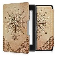 kwmobile Amazon Kindle Paperwhite (10. Gen - 2018) 用 ケース - 電子書籍カバー PUレザー - オートスリープ Reader 保護ケース