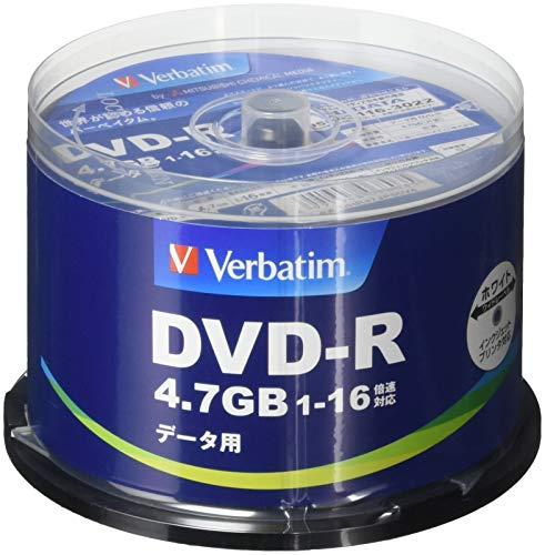 Verbatim バーベイタム 1回記録用 DVD-R 4....