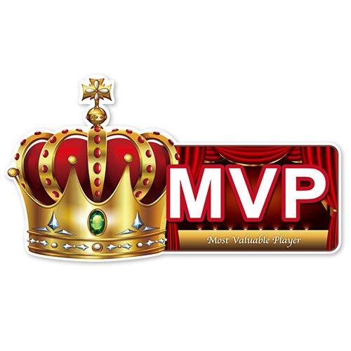 <イベント 表彰式 忘年会 >演出パネル!「MVP」