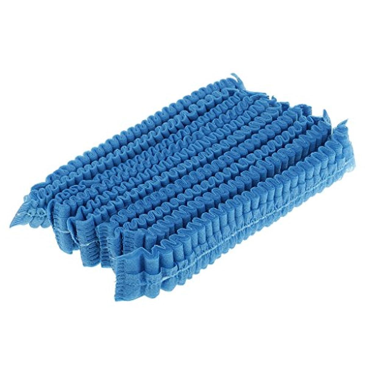 マッシュ元の竜巻Baoblaze ディスポキャップ ネットキャップ 使い捨て フリーサイズ ヘアキャップ 不織布 衛生帽子 10個入り