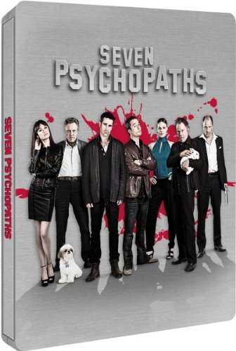 Seven Psychopaths Blu-ray Steelbook (2013) Zavvi Exclusive Edition #/4000 Region B UK Import