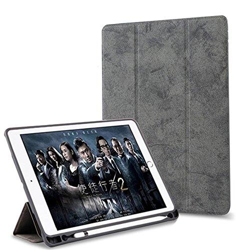 Apple Pencil 収納可能 2018 新iPad 第6世代 iPad 6 iPad 9.7 インチ 2017 iPad 5/iPadPro9.7/Pro10.5 iPadAir/air2 ケース iPad Pro 12.9ケース 収納用ペンホルダー