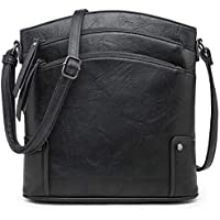 VONMAY Large Crossbody Bags for Women Triple Zip Pocket Cross Body Purses and Handbags with Tassel